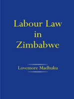 Labour Law in Zimbabwe