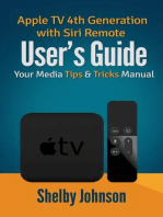 Apple TV 4th Generation with Siri Remote User's Guide