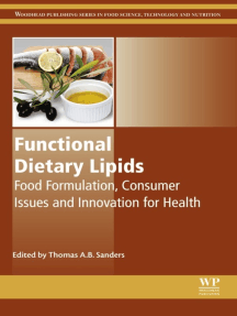 Functional Dietary Lipids: Food Formulation, Consumer Issues and Innovation for Health