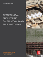 Geotechnical Engineering Calculations and Rules of Thumb