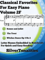 Classical Favorites for Easy Piano Volume 2 F
