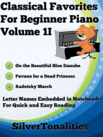 Classical Favorites for Beginner Piano Volume 1 I