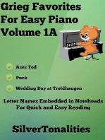 Grieg Favorites for Easy Piano Volume 1 A