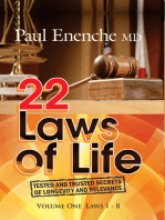22 Laws Of Life (Volume 1)