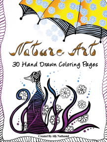 Read Nature Art Adults Coloring Pages With Printable Sample Online By Ally Nathaniel Books