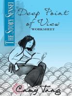 Story Sensei Deep Point of View worksheet