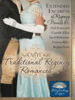A Taste of Traditional Regency Romances