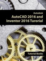 Autodesk AutoCAD 2016 and Inventor 2016 Tutorial