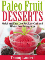 Paleo Fruit Desserts