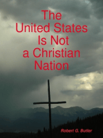 The United States Is Not a Christian Nation