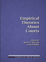 Empirical Theories About Courts