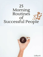 25 Morning Routines of Successful People