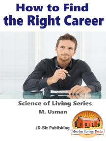 How To Find The Right Career