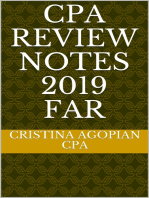 CPA Review Notes 2019 - FAR (Financial Accounting and Reporting)