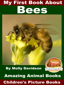 My First Book About Bees: Amazing Animal Books - Children's Picture Books