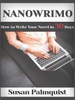 NaNoWriMo-How to Write a Novel in 30 Days
