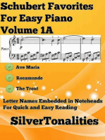 Schubert Favorites for Easy Piano Volume 1 A