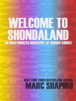Welcome to Shondaland, An Unauthorized Biography of Shonda Rhimes