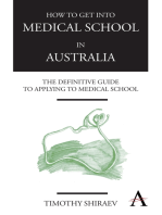 How to Get Into Medical School in Australia