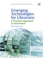 Emerging Technologies for Librarians
