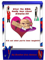 What the Bible Really Says About Divorce! It's Not What You've Been Taught!