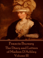 The Diary and Letters of Madam D'Arblay - Volume III