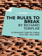 A Joosr Guide to… The Rules to Break by Richard Templar