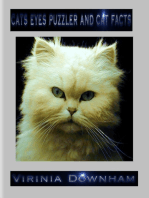 Cats Eyes Puzzler and Cat Facts