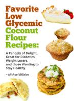 Favorite Low Glycemic Coconut Flour Recipes