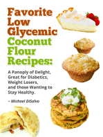 Favorite Low Glycemic Coconut Flour Recipes
