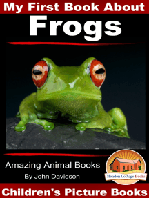 My First Book About Frogs: Amazing Animal Books - Children's Picture Books