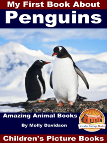My First Book About Penguins: Amazing Animal Books - Children's Picture Books