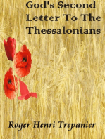 God's Second Letter To The Thessalonians