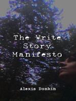 The Write Story Manifesto