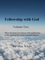 Fellowship with God (Volume Two)
