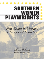 Southern Women Playwrights