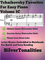 Tchaikovsky Favorites for Easy Piano Volume 1 C