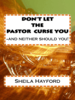 Don't Let The Pastor Curse You