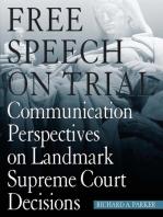 Free Speech On Trial