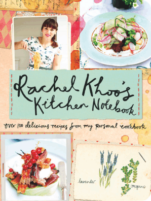 Rachel Khoo\'s Kitchen Notebook by Rachel Khoo and David Loftus - Book -  Read Online