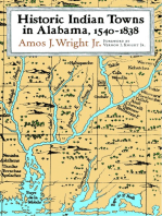 Historic Indian Towns in Alabama, 1540-1838
