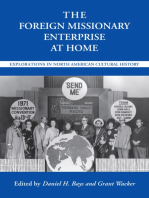 The Foreign Missionary Enterprise at Home
