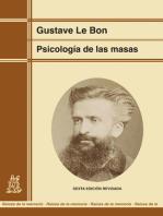 Psicología de las masas (edición renovada)