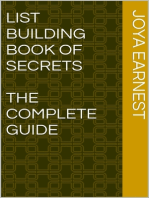 List Building Book of Secrets