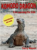 Komodo Dragons! Facts About Komodo Dragons