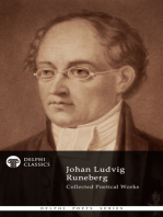 Delphi Collected Works of Johan Ludvig Runeberg (Illustrated)