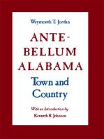 Ante-Bellum Alabama