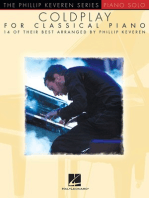 Coldplay for Classical Piano: The Phillip Keveren Series