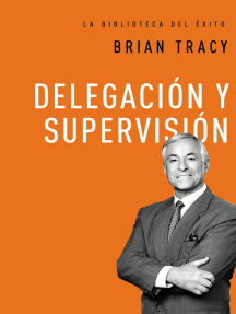 Delegación y supervisión
