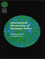 International Dimensions of Monetary Policy